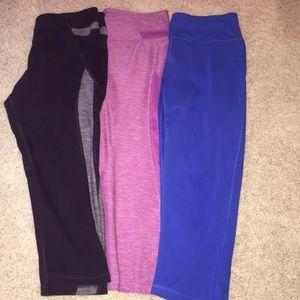 Cropped Legging Bundle Deal! 3 pairs!